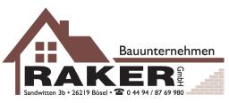 Bauunternehmen Raker Bösel Logo